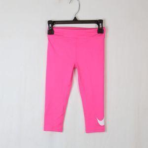 Nike Dri-Fit Capri Leggings Pink 3t